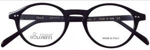 Dolomiti Eyewear P8 Oval Black