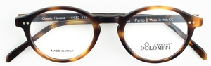 Dolomiti Eyewear P8 Oval Classic Havana