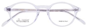 Dolomiti Eyewear P8 Oval Crystal Clear