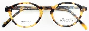 Dolomiti Eyewear P8 Oval Tokyo Tortoise