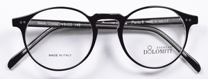 Dolomiti Eyewear Panto 8 Black/Crystal