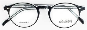 Dolomiti Eyewear Panto 9 Black Crystal