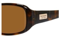 Kate Spade PAXTON/N/S Tortoise Stiped with Polarized Dark Brown Lenses