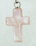 Casa Crystals & Jewelry Pendant, 30x19mm Cross Crystals