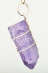 Casa Crystals & Jewelry Pendant, Amethyst Wire Wrap Crystals