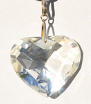 Casa Crystals & Jewelry Pendant, Heart Crystals