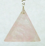 Casa Crystals & Jewelry Pendant, Triangle 1.5