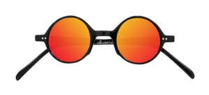 PiWear Pi PR2 Suns Black with Red Mirror Lenses