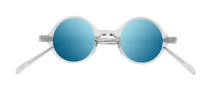 PiWear Pi PR2 Suns Crystal Clear with Blue Mirror Lenses