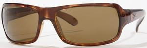 Ray Ban RB4075 Havana with Polarized Crystal Brown Lenses
