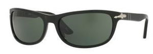 Persol PO3156S Black w/Polarized green lens