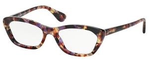 Prada PR 03QV Portrait Eyeglasses