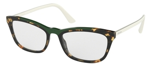 Prada PR 10VV MEDIUM HAVANA/GREEN