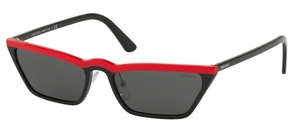 Prada PR 19US Red Black
