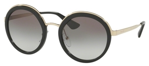 Prada PR 50TS Black with Grey Gradient Lenses