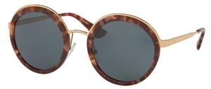Prada PR 50TS Pink Havana with Grey Lenses