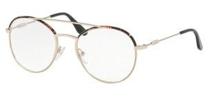 Prada PR 55UV Journal Dark Havana/Pale Gold