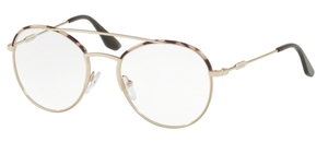 Prada PR 55UV Journal SPOTTED OPAL BROWN/PALE