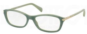 Prada PR 04PV Opal Dark Green On Green TKQ1O1