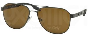 Prada PR 51RS Military Green w/ Dark Brown Lenses