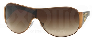 Prada PR 57LS Brass w/ Brown Gradient Lenses  7OE6S1