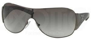 Prada PR 57LS Gunmetal w/ Grey Gradient Lenses  5AV3M1