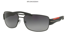 Prada Sport PS53NS Black Rubber