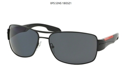 Prada Sport PS53NS DEMI-SHINY BLACK POLAR GRAY