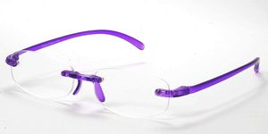 Casa Crystals & Jewelry CRG 7 Purple Reading Glasses