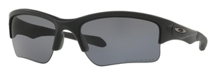 Oakley Quarter Jacket OO9200 Matte Black with Grey Polarized Lenses