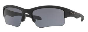 Oakley Quarter Jacket OO9200 Matte Black with Grey Lenses