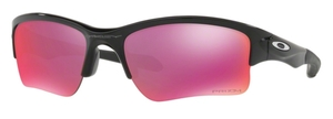 Oakley Quarter Jacket OO9200 Polished Black with Prizm Field Lenses