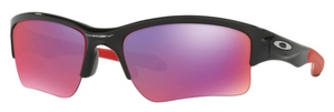 Oakley Quarter Jacket OO9200 Polished Black with Prizm Road Lenses