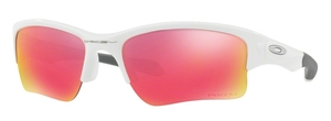 Oakley Quarter Jacket OO9200 09 Polished White with Prizm Field Lenses