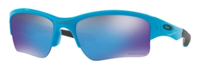 Oakley Quarter Jacket OO9200 26 Sky Blue with Prizm Sapphire Lenes