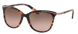 Ralph RA5203 Pink Marble with Brown Rose Gradient Lenses