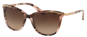 Ralph RA5203 Pink Tortoise with Dark Brown Gradient Lenses