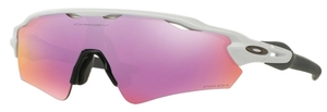 Oakley Radar EV Path (Asian Fit) OO9275 12 Polished White with Prizm Golf