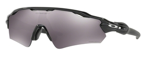 Oakley Radar EV Path (Asian Fit) OO9275 18 Polished Black with Prizm Black
