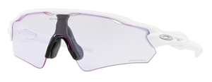 Oakley Radar EV Path (Asian Fit) OO9275 20 Polished White with Prizm Low Light