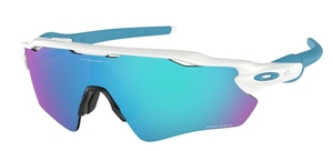 Oakley RADAR EV PATH OO9208 57 Polished White / Prizm Sapphire