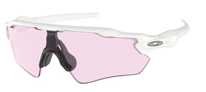 Oakley RADAR EV PATH OO9208 65 Polished White / Prizm Low Light