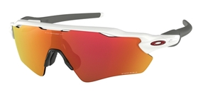 Oakley RADAR EV PATH OO9208 72 Polished White / Prizm Ruby
