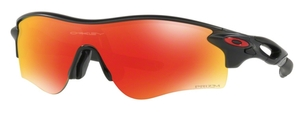 Oakley RADARLOCK PATH (Asian Fit) OO9206 42 Matte Black Ink with Prizm Ruby Lenses