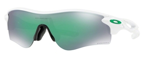 Oakley RADARLOCK PATH (Asian Fit) OO9206 43 Polished White with Prizm Jade Iridium Lenses