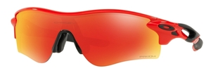 Oakley RADARLOCK PATH (Asian Fit) OO9206 45 Infrared with Prizm Ruby Lenses