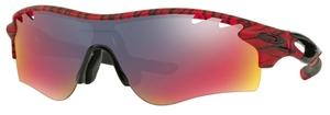 Oakley RADARLOCK PATH (Asian Fit) OO9206 Matte Red Urban Jungle with +Red Iridium Lenses