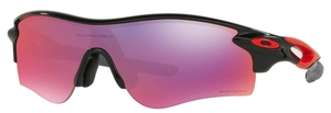 Oakley RADARLOCK PATH (Asian Fit) OO9206 37 Polished Black with Prizm Road Lenses
