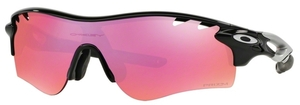 Oakley RADARLOCK PATH (Asian Fit) OO9206 Polished Black with Prizm Trail Lenses  28