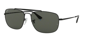Ray Ban RB3560 The Colonel Black w/ Green Polarized